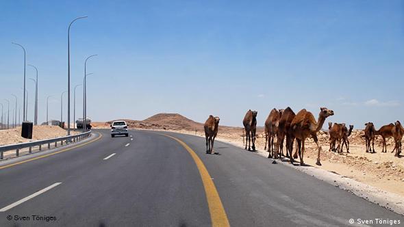 Autobahn in Oman (Foto: Töniges)