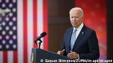 News Bilder des Tages July 13, 2021, Philadelphia, Pennsylvania, USA: United States President Joe Biden delivers remarks on protecting the right to vote at the National Constitution Center in Philadelphia, Pennsylvania on Tuesday, July 13, 2021 Philadelphia USA - ZUMAs152 20210713_zaa_s152_056 Copyright: xSaquanxStimpsonx-xCnpx