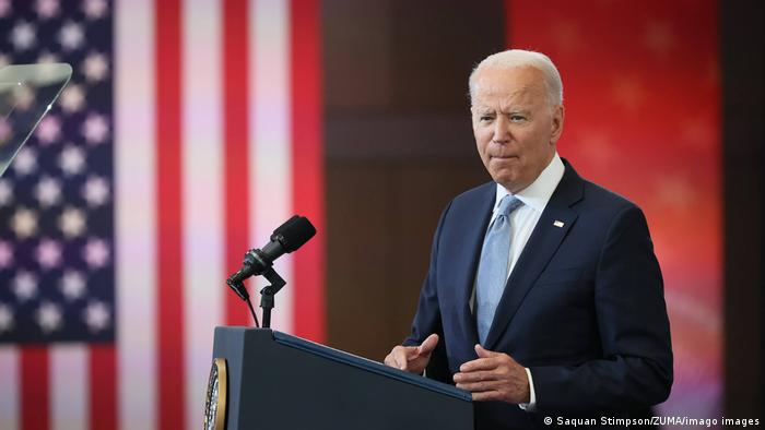 US Präsident Joe Biden in Philadelphia