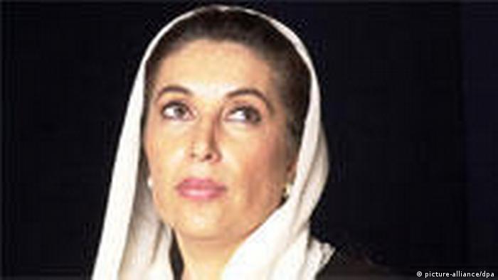 Benazir Bhutto (picture-alliance/dpa)