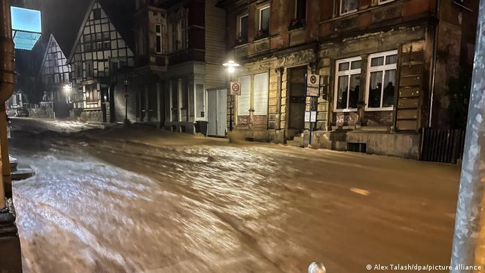 В град Хаген бе обявено катастрофално положение