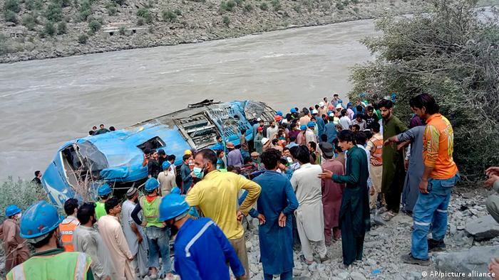 Pakistan, Kohistan | Bus Unfall