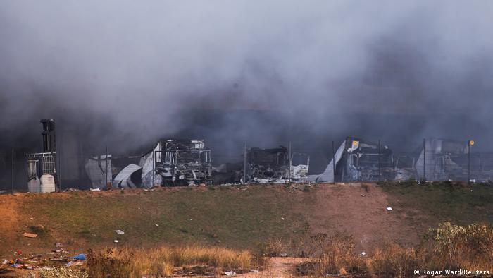 Schwere Unruhen in Südafrika nach Verurteilung von Ex-Präsident Zuma