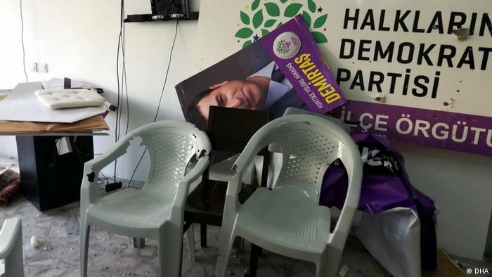 Türkei | Angriff auf das Parteibüro der pro-kurdischen HDP in Marmaris