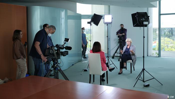 Entrevista de DW con la Comisionada alemana para la Cultura, Monika Grütters