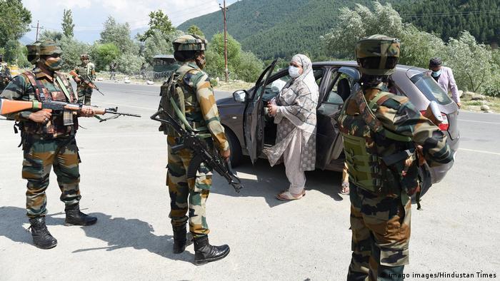 Kaschmir Indische Soldatinnen