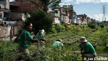 2021 Gemeinschaftsgarten in Manguinhos, Rio de Janeiro, Brasilien. ***Die Bilder dürfen im Rahmen der Berichterstattung über einen Gemeinschaftsgarten in der Favela von Manguinhos, Rio de Janeiro in Brasilien benutz werden.