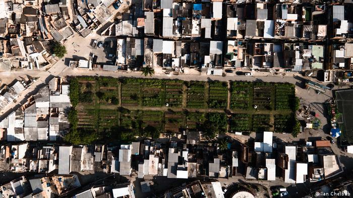 Horta comunitária de Manguinhos
