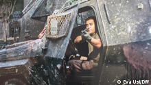 Das Militär und die Polizei haben gezielt auf die Gesichter der Protestierenden geschossen. Datum: 13.07.2021