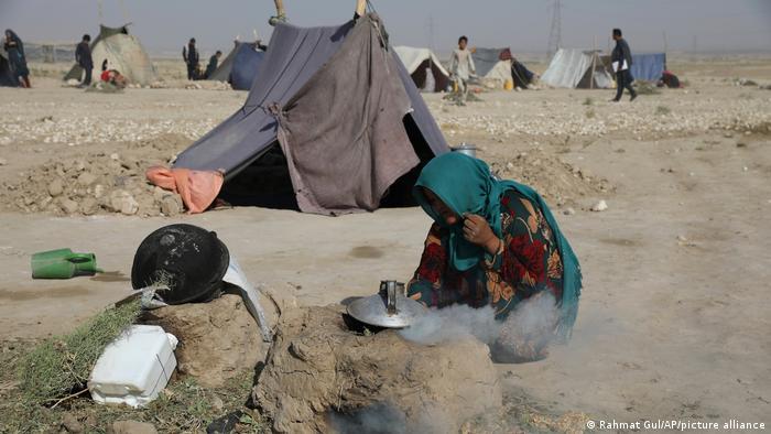 Afghanistan | Binnenvertriebene flüchten vor Taliban