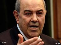 ایاد علاوی،  رهبر تشکل العراقیه و نخستین رئیس دولت عراق پس از سقوط صدام