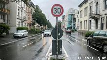 Знак обмеження швидкості 30 у Бонні