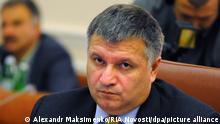 2494824 09/17/2014 Ukraine's Interior Minister Arsen Avakov at a meeting of the Cabinet. Alexandr Maksimenko/RIA Novosti
