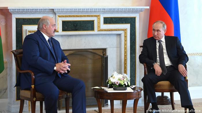 Встреча Путина и Лукашенко в Санкт-Петербурге