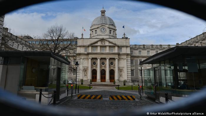 Irland I Regierungsgebäude in Dublin