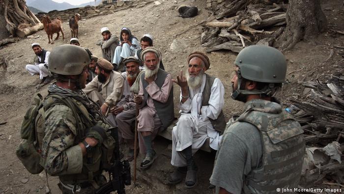 Wanajeshi wa Marekani walipokuwa nchini Afghanistan