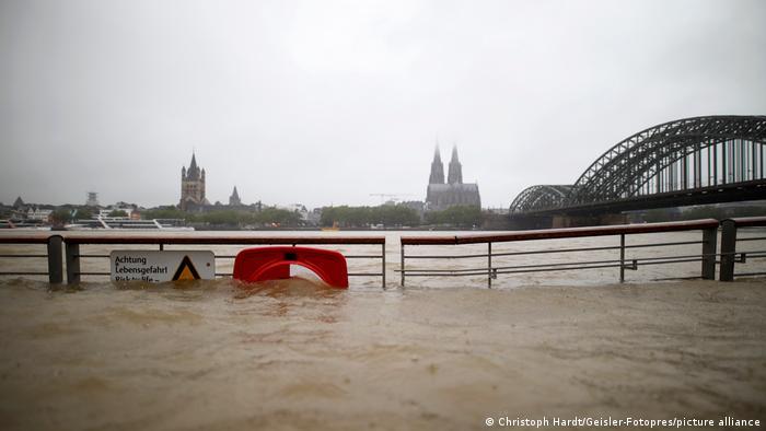 BdT Deutschland Unwetter in Köln