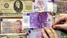 Euro steigt im Vergleich zum US-Dollar