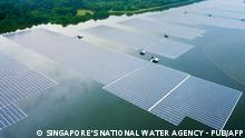 Singapur | Schwimmende Photovoltaikanlage Tengeh