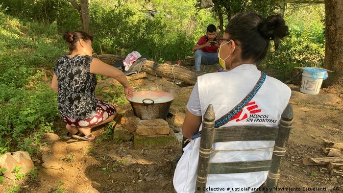 Médicos sin Fronteras da servicios de salud en zonas de alta peligrosidad.
