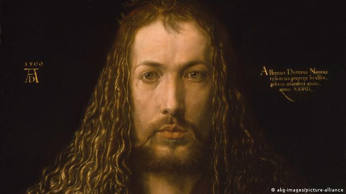 Альбрехт Дюрер, автопортрет, 1500-й год
