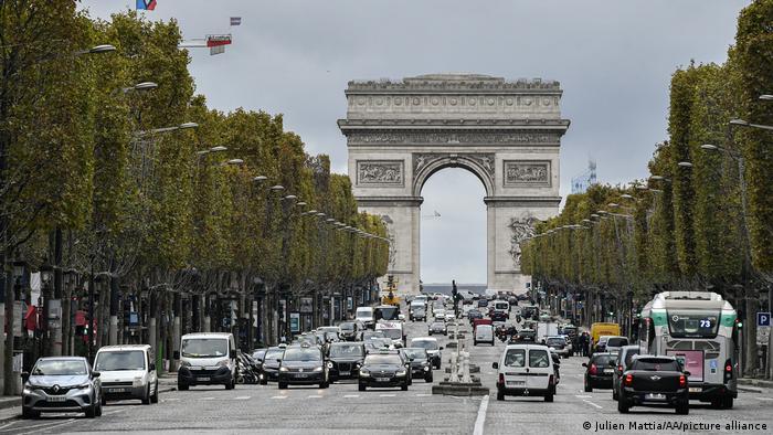 Frankreich l Champs Elysee, Paris