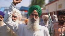 Bauernaufstand in Indien 11390 HR