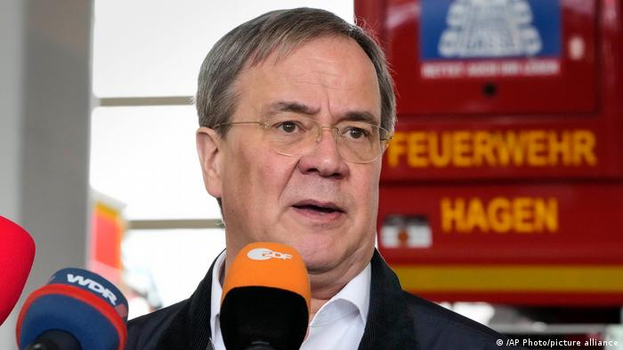 NRW-Ministerpräsident und Unions-Kanzlerkandidat Armin Laschet