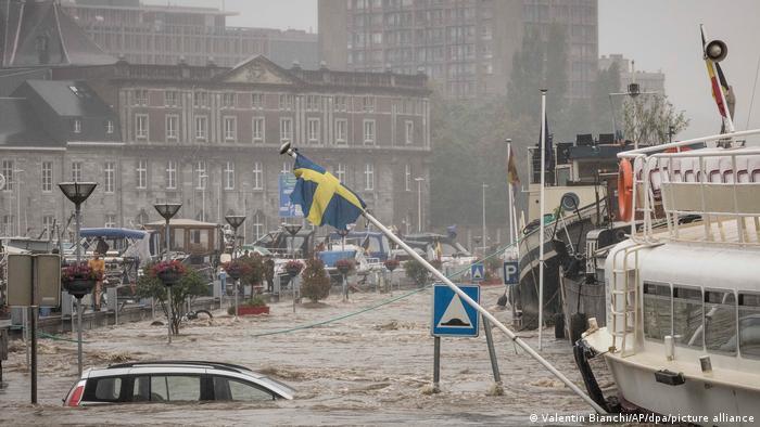Unwetter in Belgien