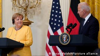 USA I Angela Merkel und Joe Biden in Washington