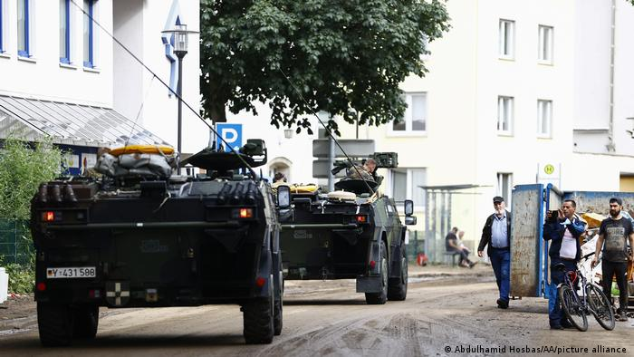 Germany army vehicles in Rheinland-Pfalz