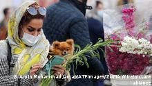 19.03.2021 March 19, 2021, Tehran, Bavaria, Iran: TEHRAN, IRAN - MARCH 19: Iranian people are getting ready in Tehran for Persian New Year. Nowruz is calculated according to a solar calendar, this year marking 1400. Iranians traditionally decorate a ceremonial table of Nowruz with goldfish, wheat grass, candles, mirrors and other symbolic items on March 19, 2021 in Tehran, Iran. (Credit Image: © Amin Mohammad Jamali/ATPImages via ZUMA Wire