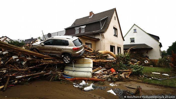 Deutschland Unwetter Schäden | Rheinland-Pfalz - ganze Gegenden wurden überflutet