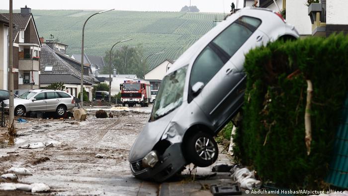 Deutschland Unwetter Schäden | Rheinland-Pfalz