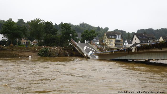 Powódź w powiecie Ahrweiler w Nadrenii-Palatynacie