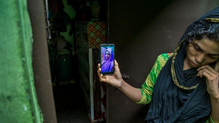 Bangladesch Opfer Feuer in Fabrik Rupganj