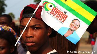 São Tomé und Príncipe Präsidentschaftswahlkampf 2021 | Maria das Neves