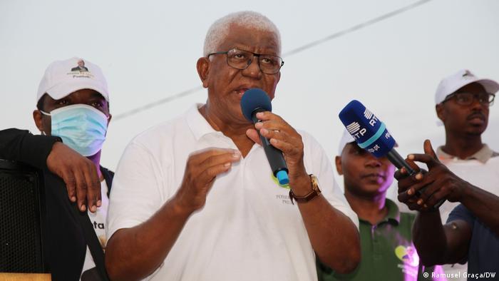 São Tomé und Príncipe Präsidentschaftswahlkampf 2021   Pósser da Costa
