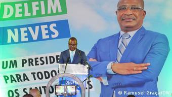 São Tomé und Príncipe Präsidentschaftswahlkampf 2021 | Dellfim Neves