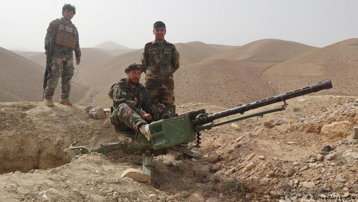 Afghanistan Provinz Bamiyan   Kampf Sicherheitslräfte und Milizen gegen die Taliban