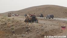 Afghanische Sicherheitskräfte und Pro-Regierung-Milizen im Kampf gegen die Taliban in der Provinz Bamiyan Ashaq Akramy, DW, 12.07.2021