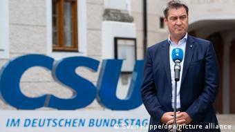 Μάρκους Ζέντερ, πρωθυπουργός Βαυαρίας