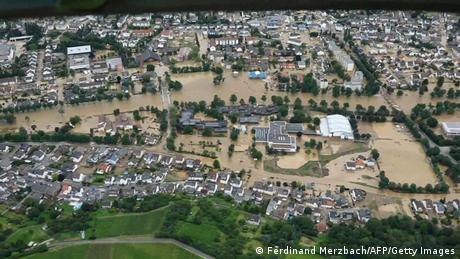 Deutschland Unwetterkatastrophe  Bad Neuenahr-Ahrweiler in Rheinland-Pfalz