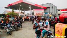 Angola, Treibstoffmangel in Cabinda. Foto: Simão Lelo/DW 12.7.2021