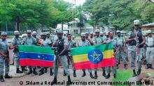 Military deployment of SNNP/Sidama forces to fight on behalf of the government in Tigray. Autor/Copyright: Sidama Regional Government Communication Bureau Schlagworte: Ethiopia, Addis Ababa, Äthiopien, Afar, South Ethiopia