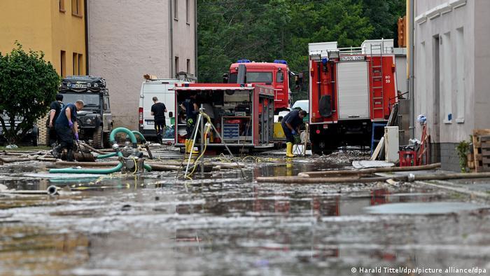 Deutschland Kordel | Unwetter in Rheinland-Pfalz | Aufräumarbeiten