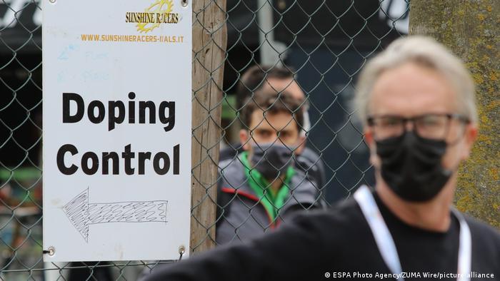 Italien Nalles | MTB Race | Dopingkontrolle