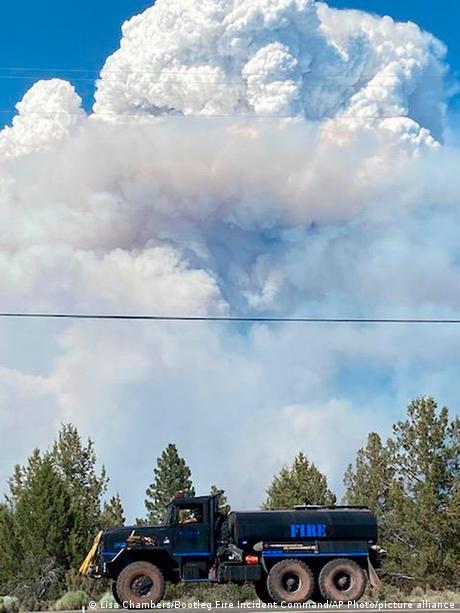 USA   Waldbrand in Oregon