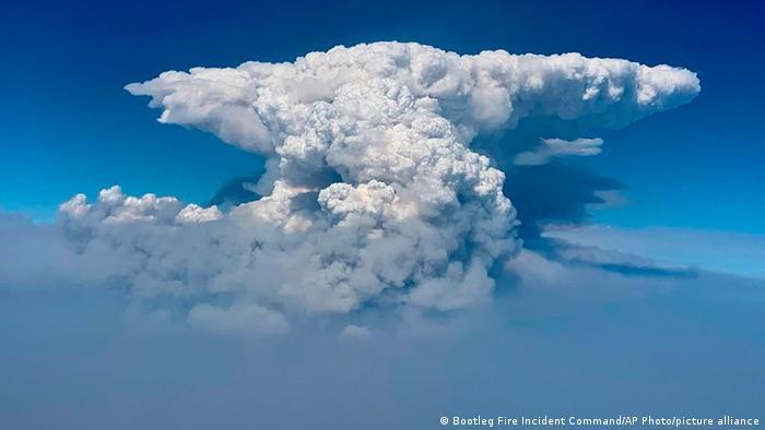 USA Waldbrände Wolken Oregon
