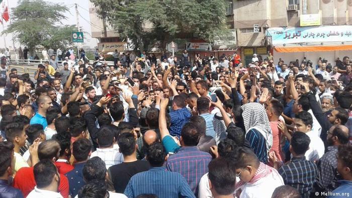 Demonstration in Khuzestan, Iran